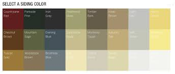 Hardie Siding Color Chart Hardie Plank Colors Siding