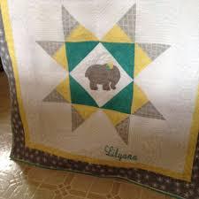Missouri Star Baby Quilt | Quiltsby.me & Missouri Star Baby Quilt Adamdwight.com