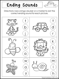 Determine whether each word ends with the g or t sound. 17 Best Ending Sounds Worksheets Images On Worksheets Ideas