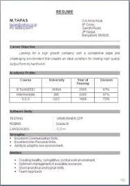 Cv Examples Word Free Download Sample Template Excellent Curriculum