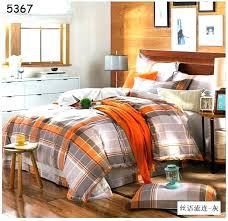 orange and gray bedding sets comforter set in dark orange size king orange and