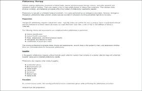 Phlebotomy Resume Sample Sample Resume Sample Resume Rules For