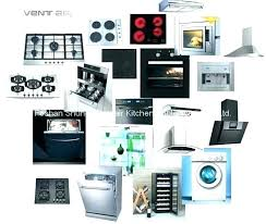 kitchen appliances list of essentials for new home within and their uses