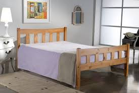 Small Double Bedroom Own This Bonsoni Simple Style Small Double Miami Bed Frame Pine