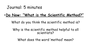 5 minutes to ms the scientific method science 1 ms griffin journal 5 minutes do