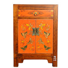 how to paint lacquered furniture. Chinese Classical Hand-painted Butterfly Lacquer Painting Wooden Bedroom Furniture Beijing Bedside Table How To Paint Lacquered
