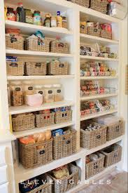 To Organize Kitchen Kitchen Cabinets Kitchen Pantry With 6 Shelves Three Fixed And