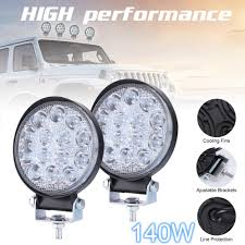 Work Light Replacement Parts Car Lights 2 Piece S 140w 6000k Waterproof Led Work Light For Off Road Suv Replacement Parts