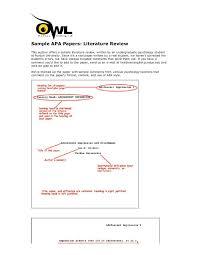 literature review example apa apa sample essay sample of apa paper apa format for essay paper how