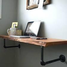 diy wall mounted desk wall mounted desk small floating desk beautiful wall mounted desk