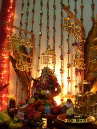decoration for ganpati indian customs pinterest decoration