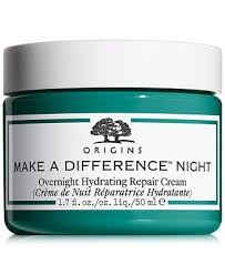 <b>Origins Make A Difference</b> Overnight Hydrating Repair Cream, 1.7 oz