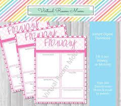 February Newsletter Template February Newsletter Monthly Or Weekly Newsletter Template Digital Download 8 5 X 11