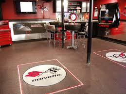Decorating: Garage Man Cave With Home Gym - Man Cave Ideas