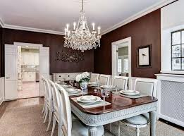 two tone dining room color ideas. traditional dining room with dark red and white color theme two tone ideas o