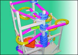 Paper Roller Coaster Loop Template Images Template Design Ideas