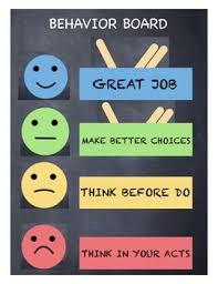 Traffic Light Chart Behaviour Behavior Traffic Light Chart Blue Gree Yellow Red
