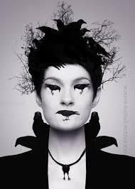 crow makeup