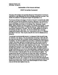 deforestation essay homework and study help  deforestation essay