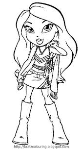 Small Picture Bratz Coloring Pages GetColoringPagescom