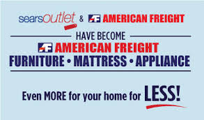 sears outlet is now american freight