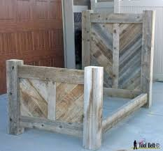 reclaimed wood furniture plans. rustic reclaimed wood bed plan furniture plans s