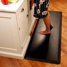 Rubber Kitchen Flooring Kitchen Anti Fatigue Kitchen Mats With Tile Floor Idea For