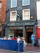 davy byrne s pub dublin where bloom consumes a gorgonzola cheese sandwich and a gl of burgundy