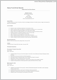 Cv For Driver Job Minimalist Bus Driver Resume Resume Design