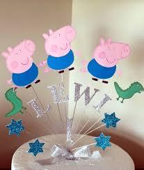 George Pig Cake Topper Precious Cake Tops