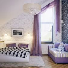 Kids Room Design: Lilac White Black Girls Room - Contemporary