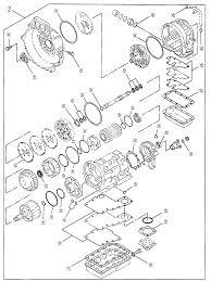 2002 honda passport 4 door 2ex ka 4at at transmission repair kit diagram 3081879