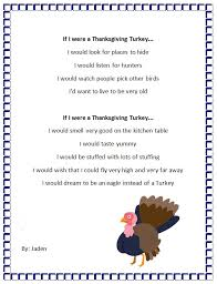 thanksgiving turkey poem turkey feather students