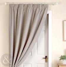 thick heavy door curtains ready made thermal lined