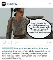 daisy ridley hits back at body shamers i will not apologize for  instagram