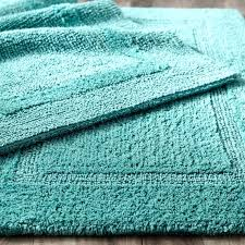 reversible bathroom rugs reversible cotton turquoise bath rug wamsutta reversible contour bath rug