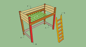 Building A Loft Bed How To Build A Loft Bed With Stairs Howtospecialist How To