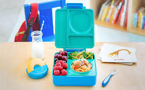 kids bento lunchbox OmieLife | OmieBox Kids Thermos-Insulated Bento Box
