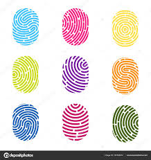 Fingerprint Design Images Thumbprint Art Creative Vector Illustration Of