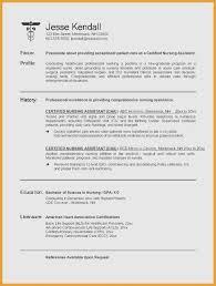 48 Basic Cna Resume For Hospital Iyazam