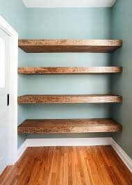 How To Build Floating Shelves In An Alcove Classy Making Floating Shelves Floating Shelf Plans View Larger Building