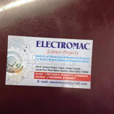 Electromac Science Projects, Janakpuri District Centre - School ...