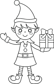 Elf On Shelf Printable Coloring Pages Carriembeckerme