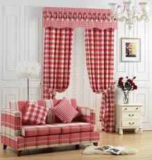 Plaid Curtains For Living Room Popular Red Plaid Curtains Buy Cheap Red Plaid Curtains Lots From