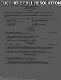 Resume For Industrial Engineer 10 Maintenance With Sample Building