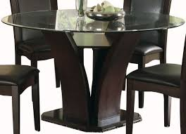 daisy brown 54 round dining table main image