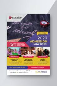 Now Open Flyer Template Kids School Education Admission Flyer Template Ai Free