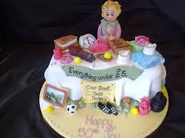Car Boot Sale Cake Cakecentral Com