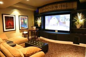 basement movie theater. 23 amazing finished basement theaters for movie time-12 theater r