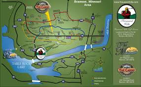 branson map and weather  branson lodging and real estate